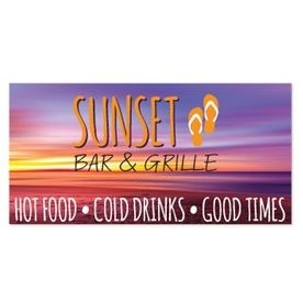 4-Color Process Bumper Sticker (7 1/2