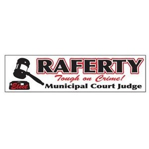 4-Color Process Bumper Sticker (11 1/2
