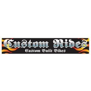 4-Color Process Bumper Sticker (15