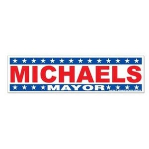 4-Color Process Bumper Sticker (9 1/4